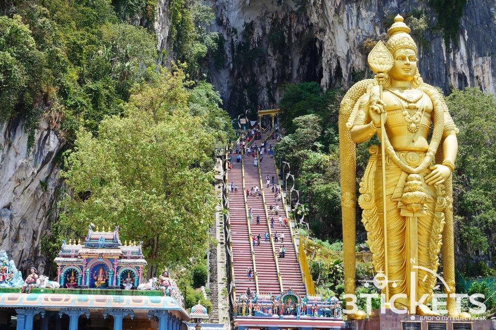 Достопримечательности Куала-Лумпура (Малайзия): пещеры Бату
