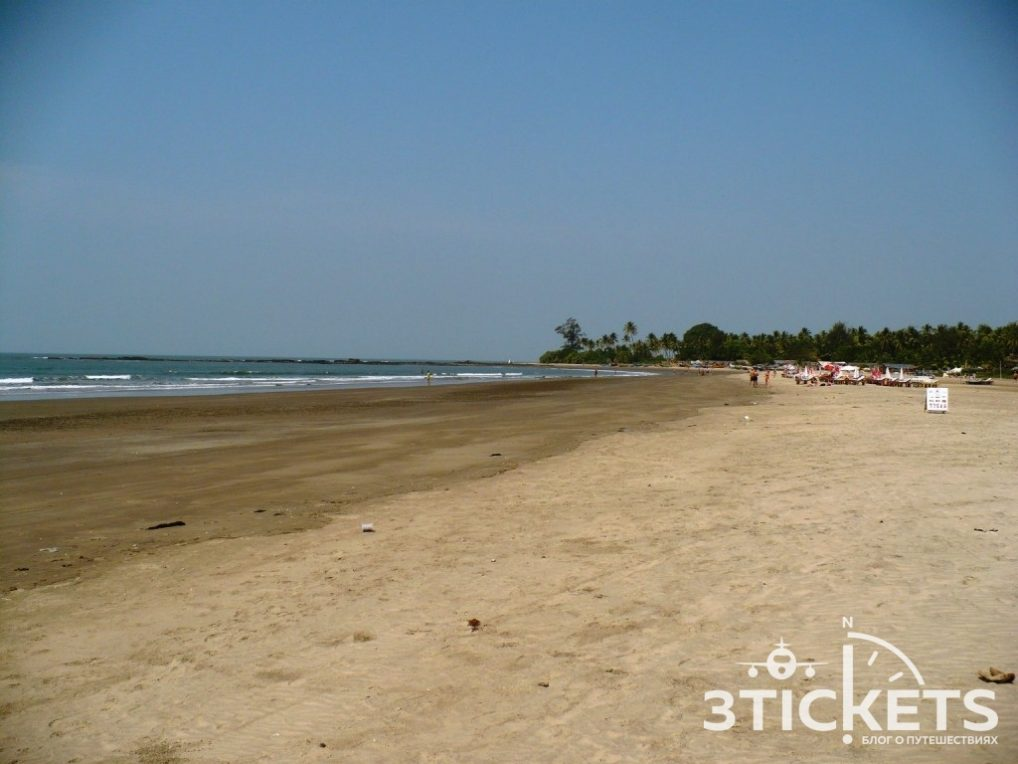 Пляжи Гоа: Морджим (фото)