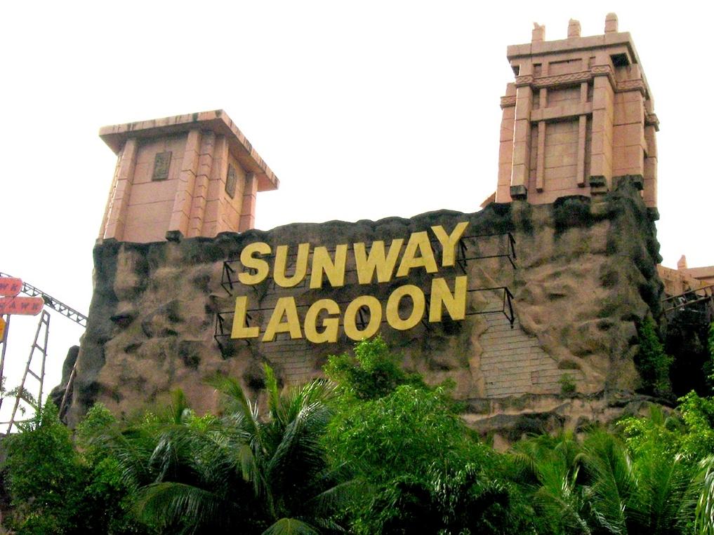 Куала-Лумпур с детьми: Sunway Lagoon Theme Park