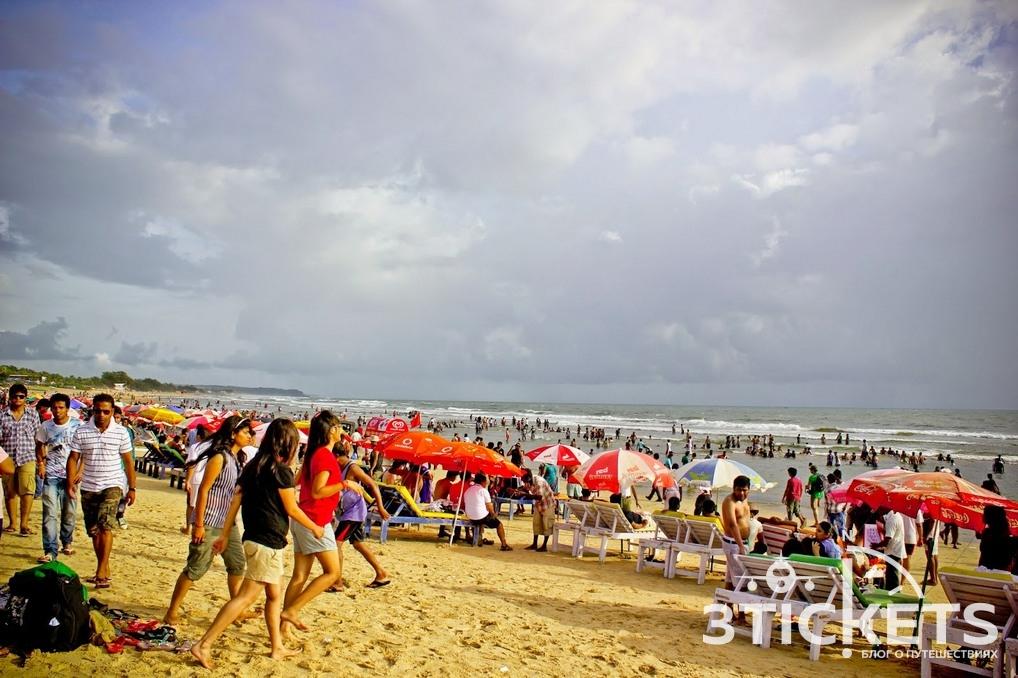 Пляжи Гоа: Бага (фото)