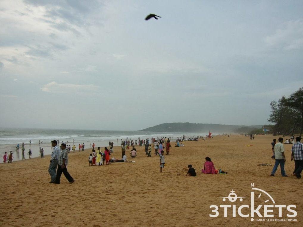 Пляжи Гоа: Калангут (фото)