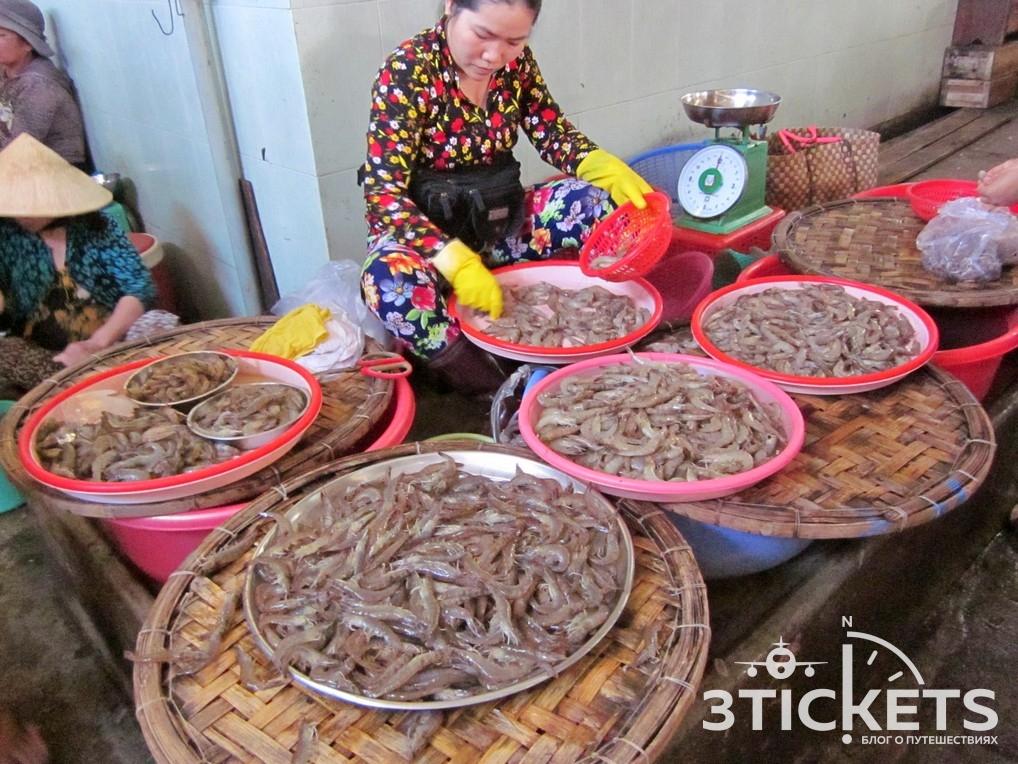 Морепродукты в Нячанге