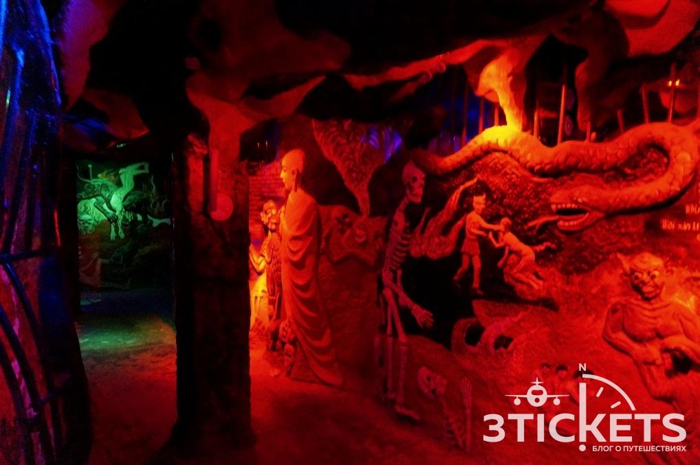 Пагода Линь Фуок (Linh Phuok) в Далате: музей ада