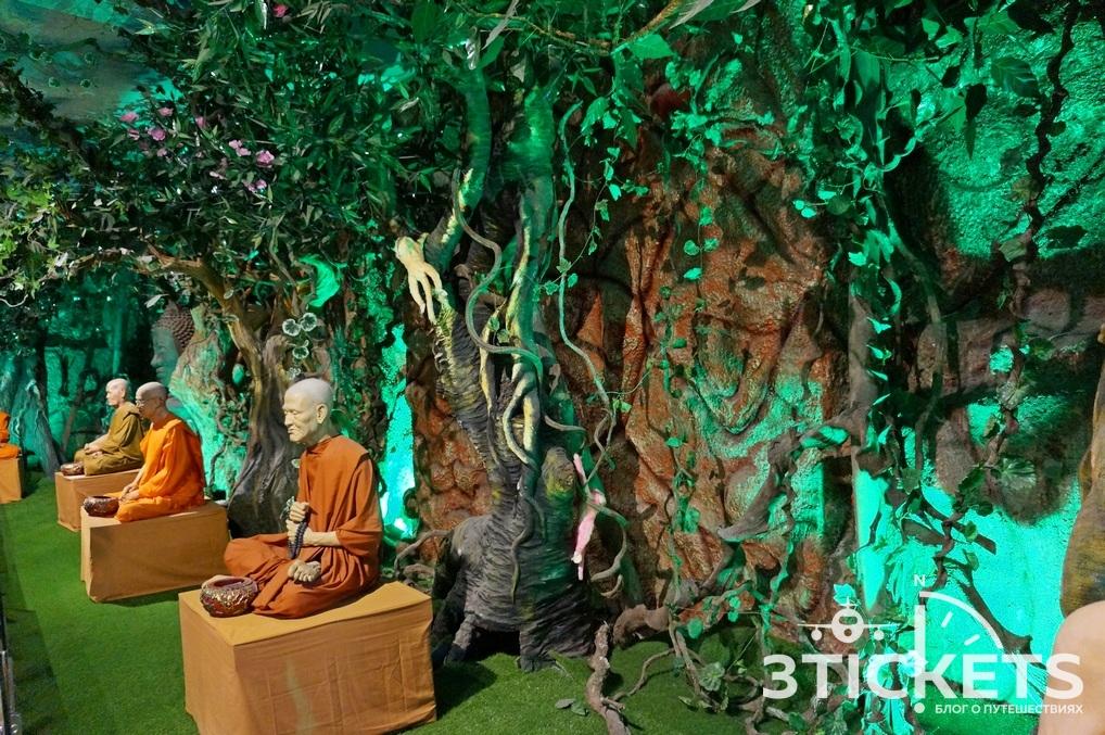 Пагода Линь Фуок (Linh Phuok) в Далате: монахи