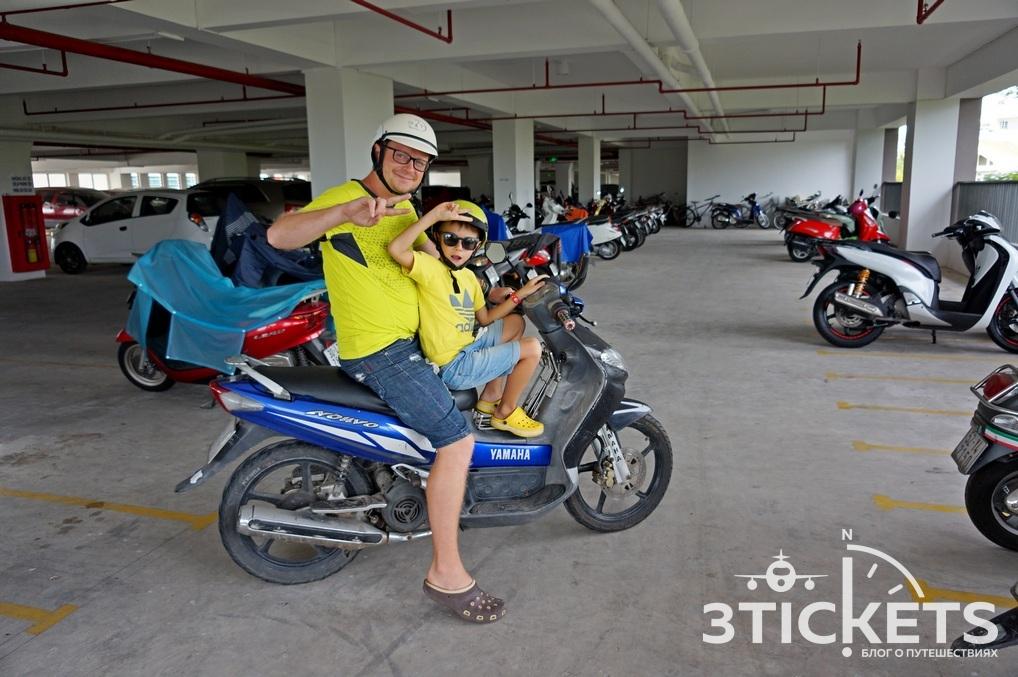 Квартира в Нячанге: парковка