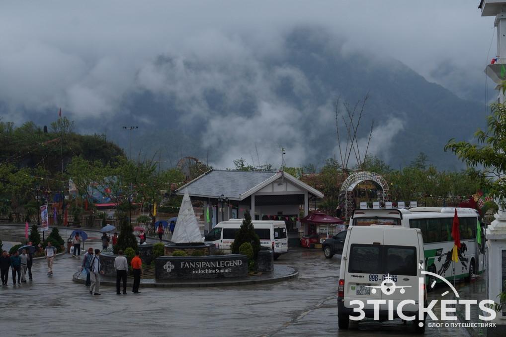 Гора Фансипан и канатная дорога в Сапе: фото