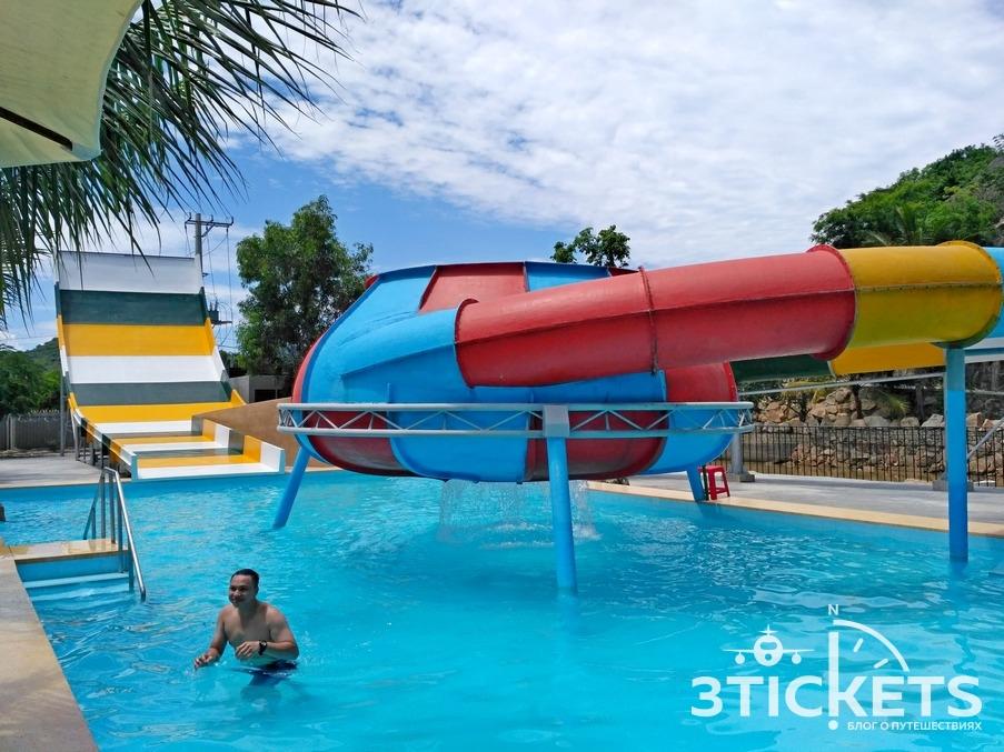 Аквапарк и водные горки в I Resort, Нячанг: фото