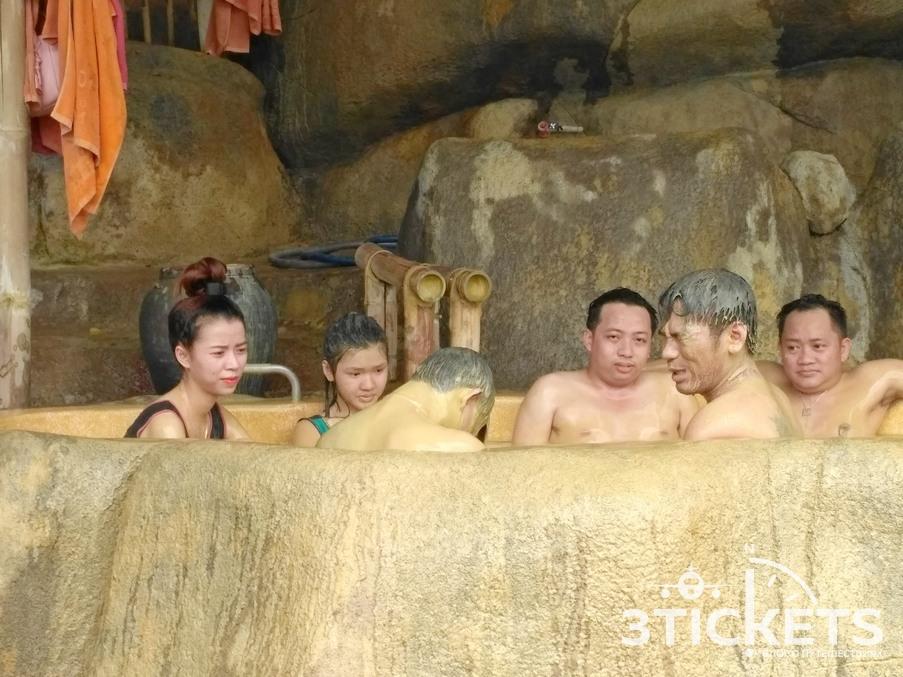 I Resort: Грязевые ванны
