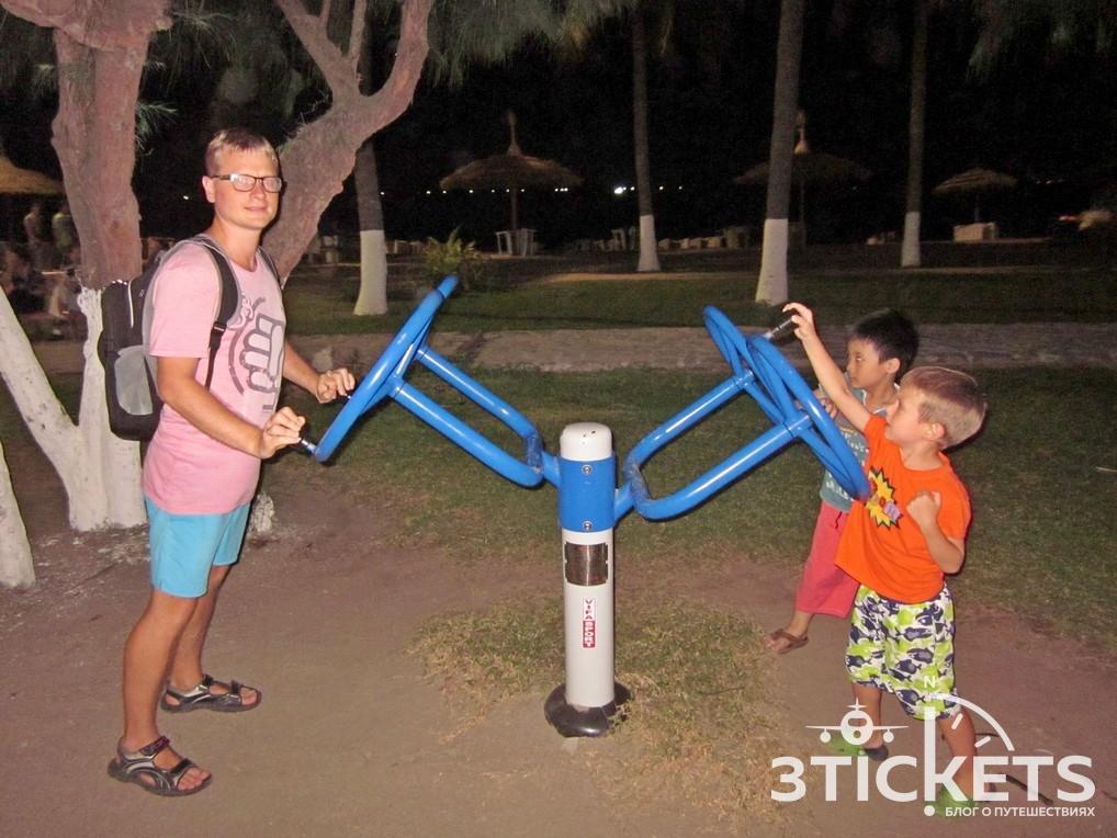 Детские площадки в Нячанге