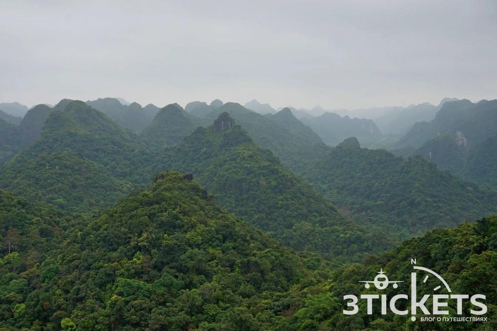 Национальный парк Катба, зеленые холмы: смотровая площадка