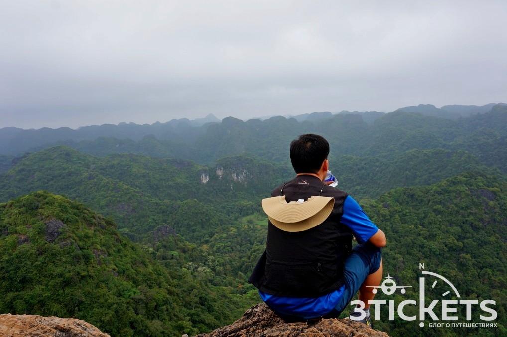 Национальный парк Кат Ба: смотровая площадка