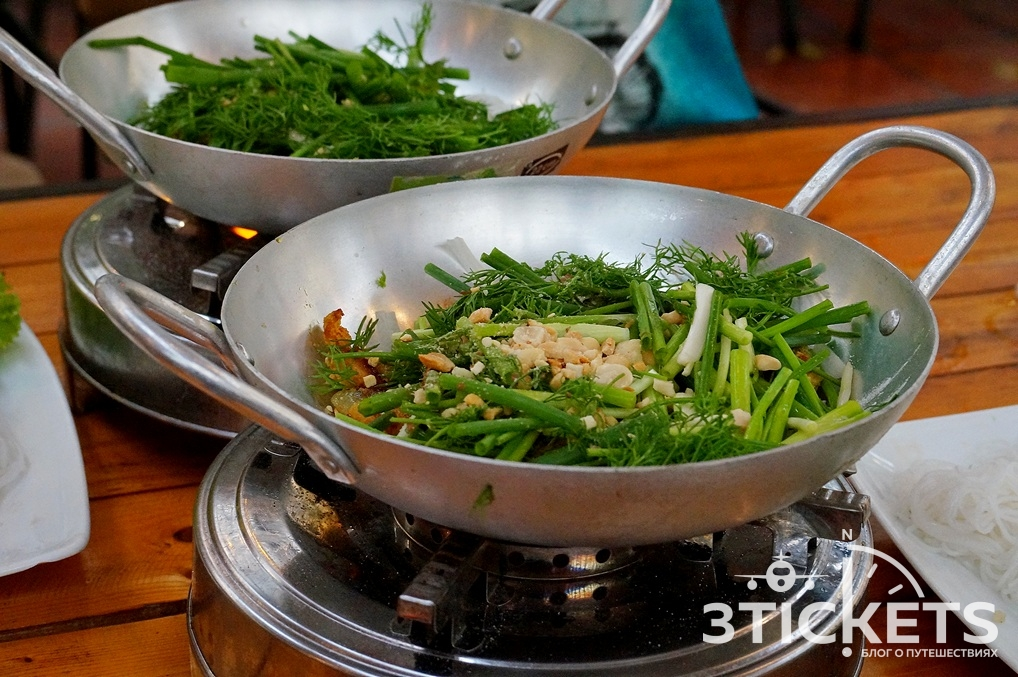 Вьетнамское блюдо Ча Ка