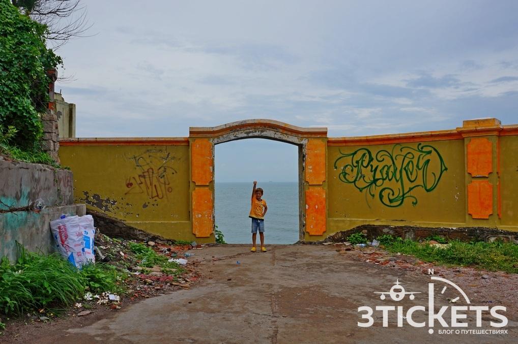 Достопримечательности Вунгтау: смотровая площадка изаброшенный ресторан намысе