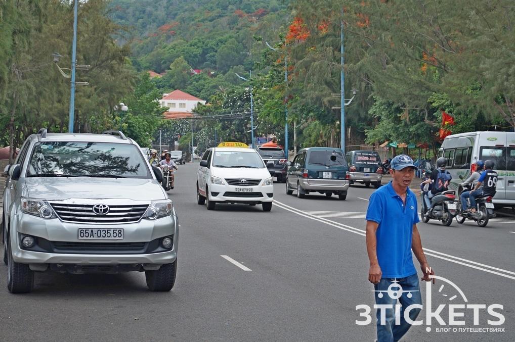 Город Вунгтау, улицы: фото