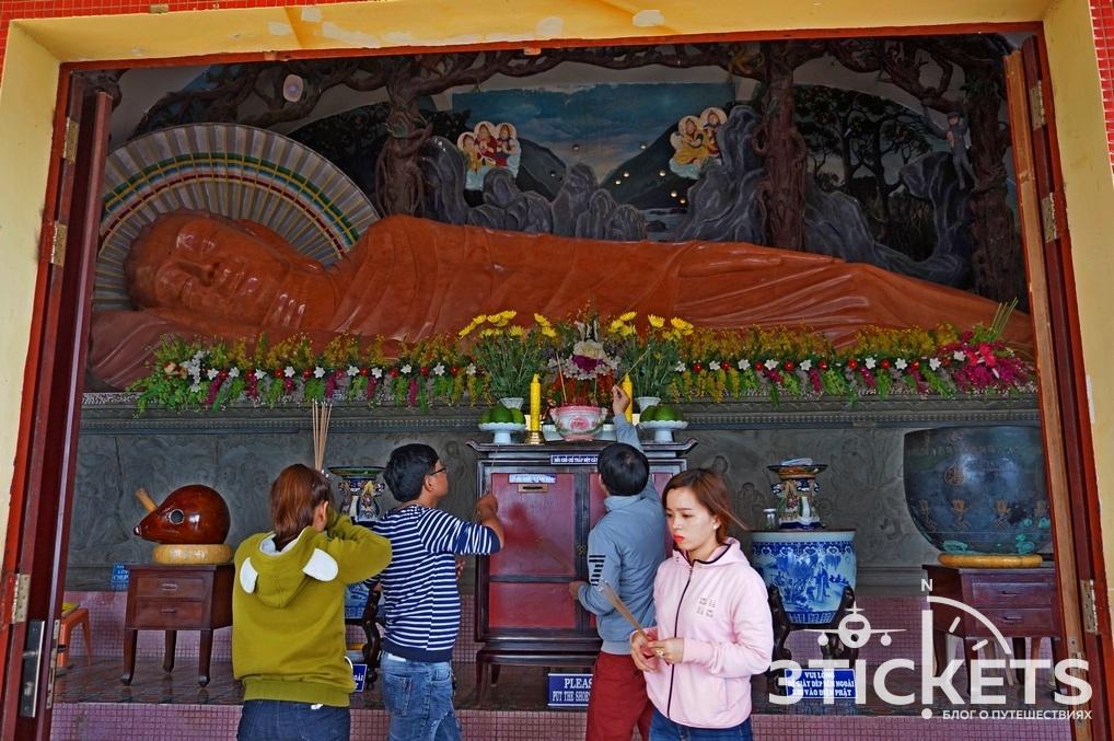 Пагода Quang Am в Вунгтау