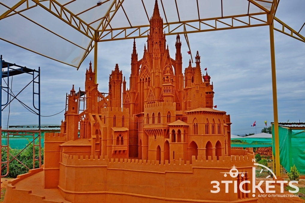 Парк скульптур из песка Forgotten Land: новая достопримечательность Муйне
