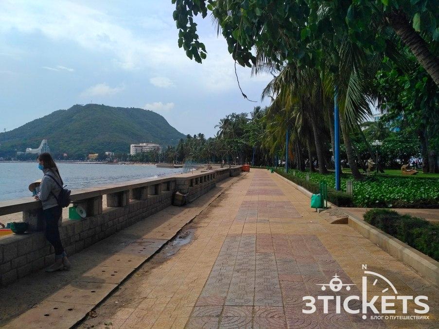 Набережная Парадного пляжа, Вунгтау