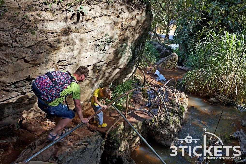Водопад Слон в Далате