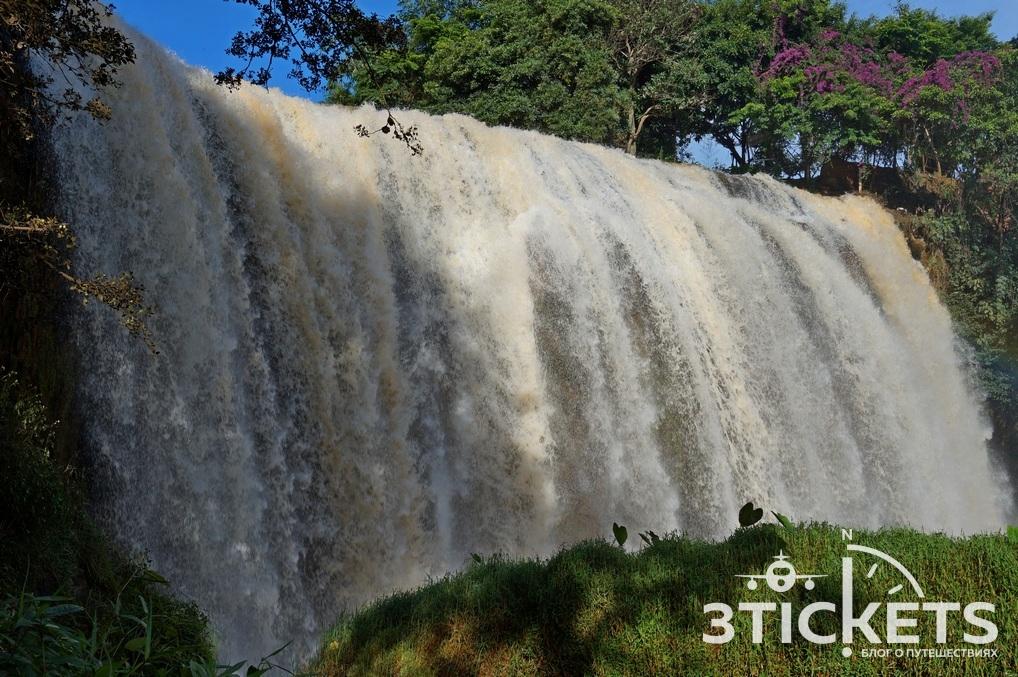 Слоновий водопад Вьетнам: фото