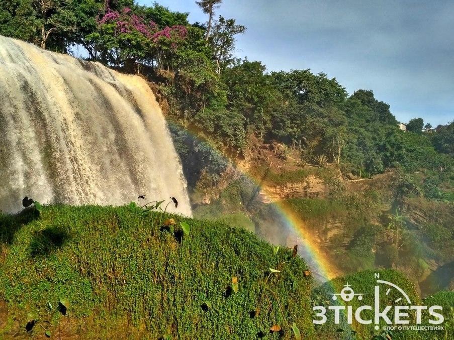Слоновий водопад в Далате, Вьетнам