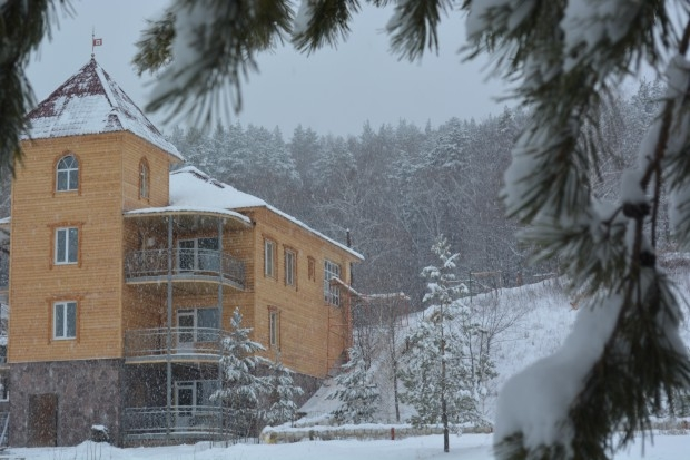Парк-отель Хвалынский на горнолыжном курорте