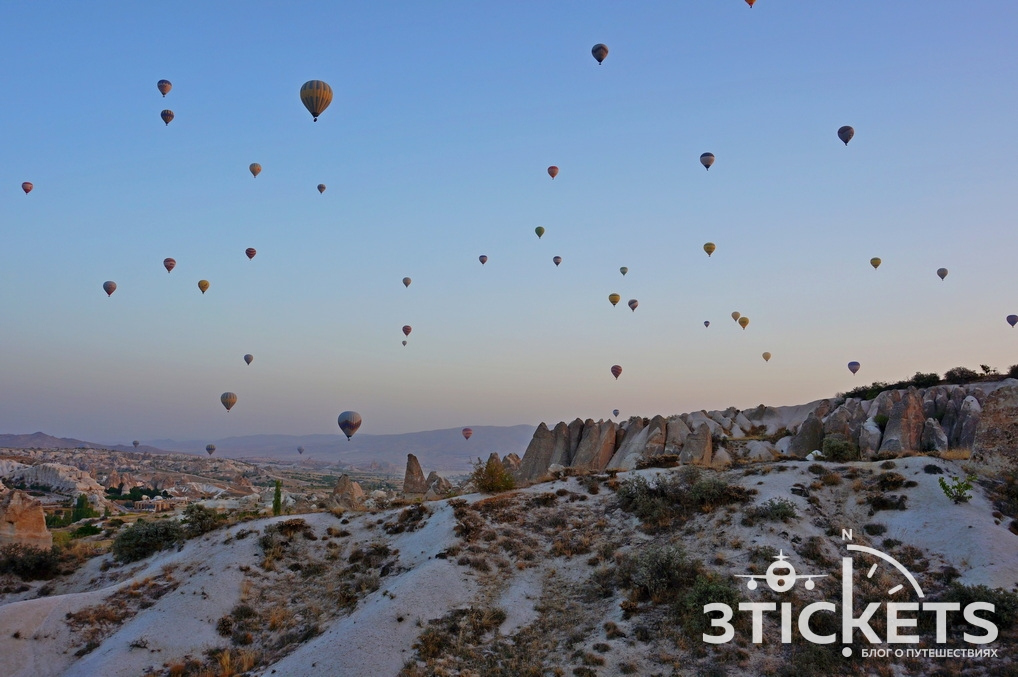 Полет на воздушном шаре в Каппадокии