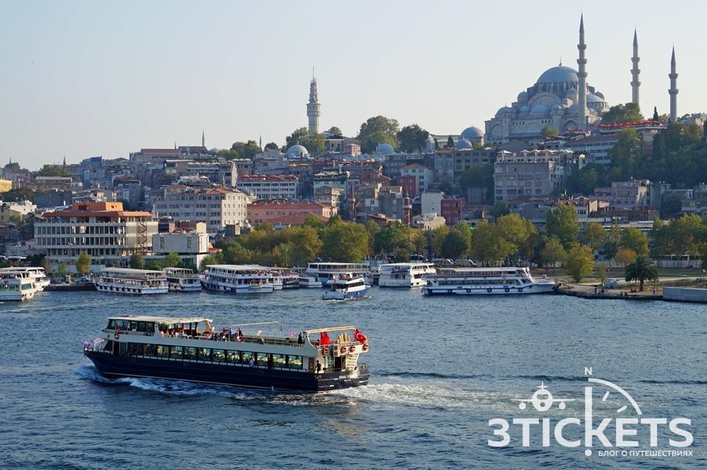 Паром из аэропорта в Стамбуле