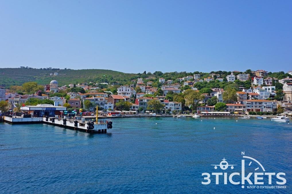 Остров Бургазада, Принцевы острова в Стамбуле