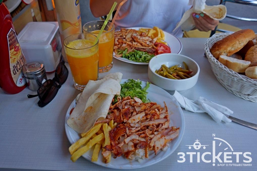 Сколько стоит поесть в Стамбуле