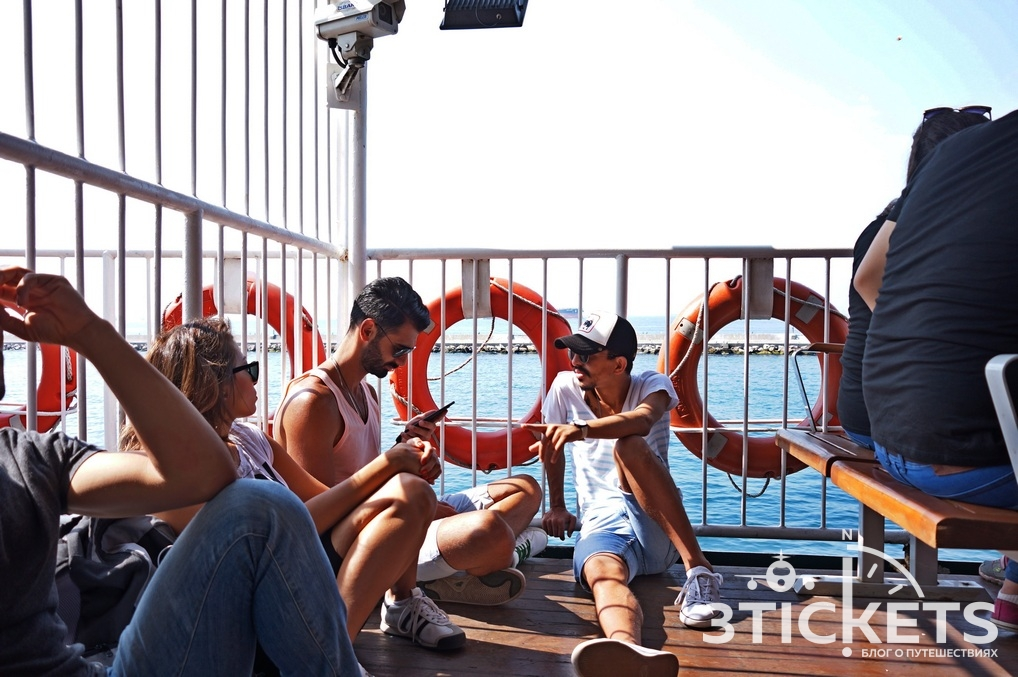Паром из Стамбула на Принцевы острова