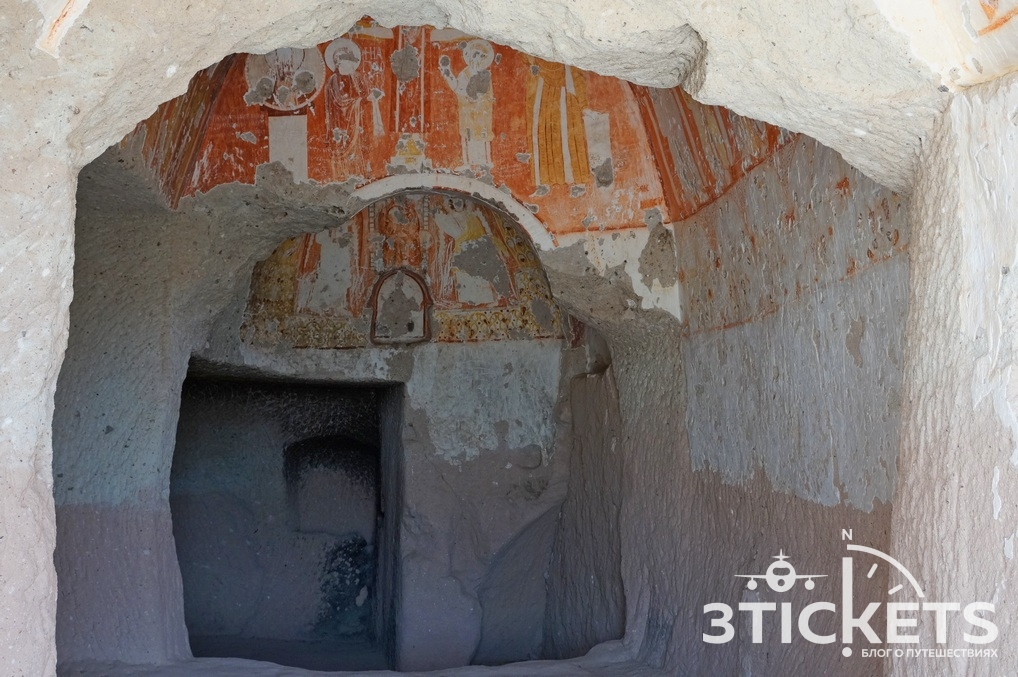 Древние церкви в долинах Каппадокии
