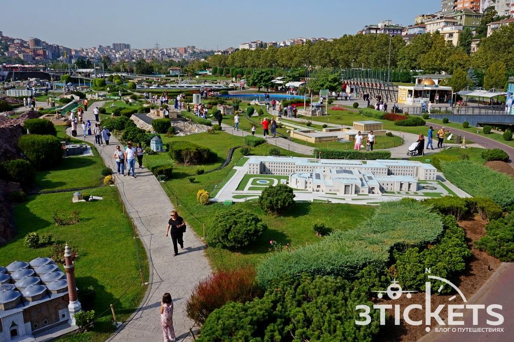 Парк Миниатюрк вСтамбуле