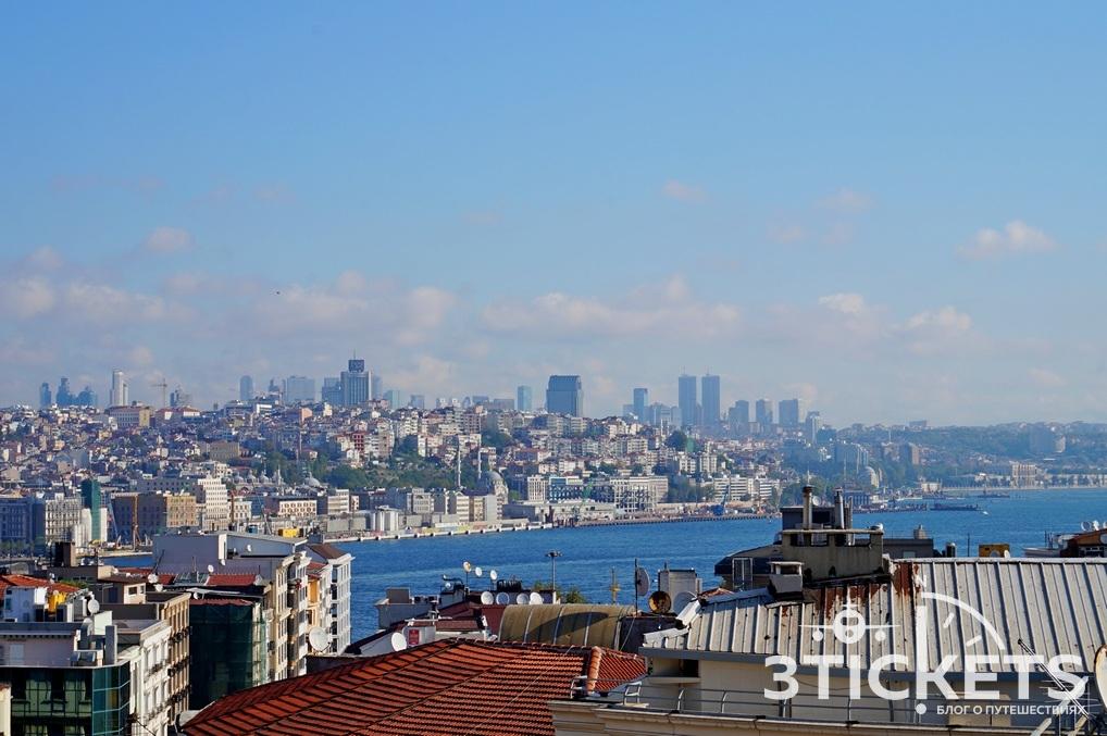 Отель с видом на пролив Босфор