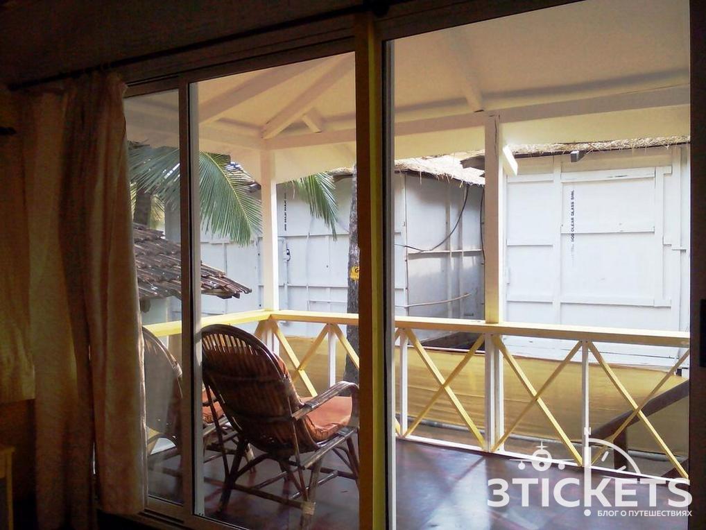 Отель бунгало на пляже Палолем Cuba Premium Huts