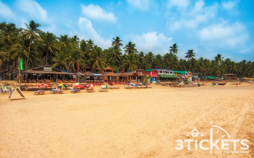 Пляж Патнем, Южное Гоа