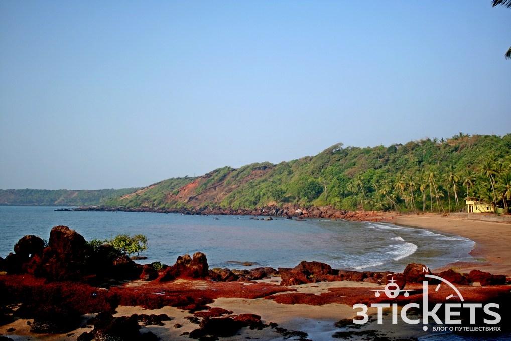 Пляж Канагуиним, Южное Гоа