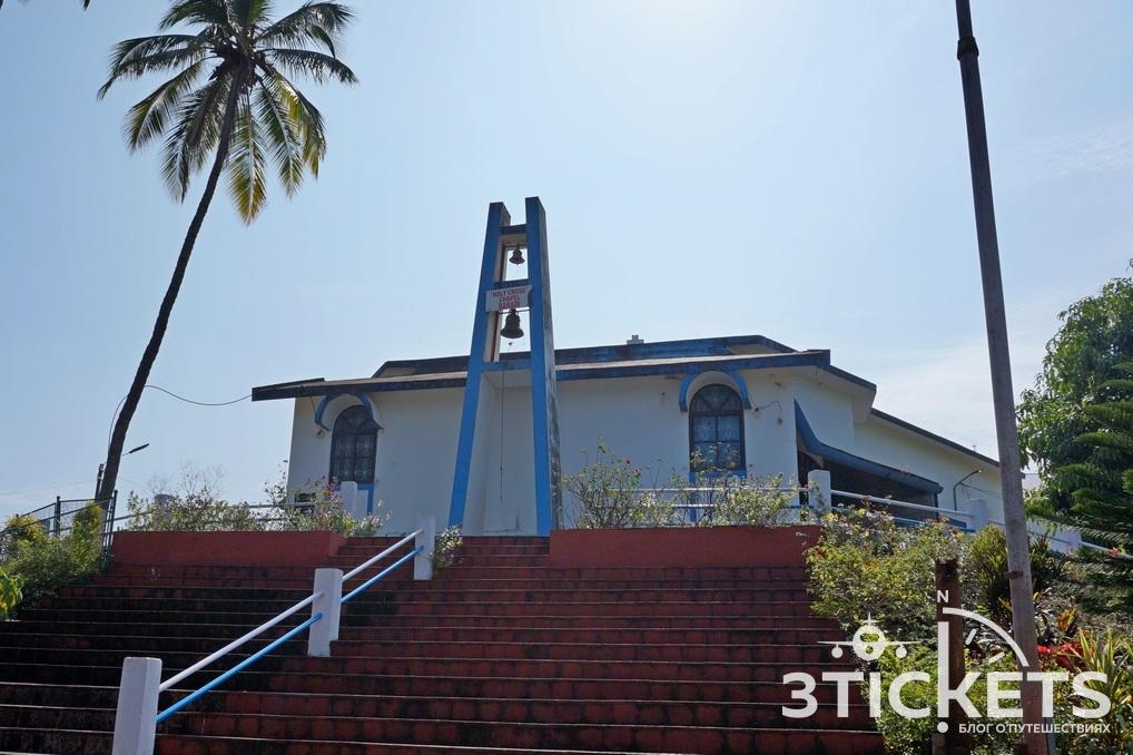 View point и церковь Holy Cross Chapel-Baradi