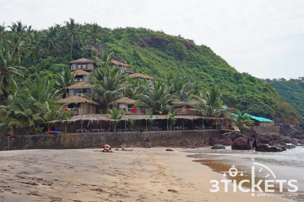 Пляж Кола бич, Южное Гоа