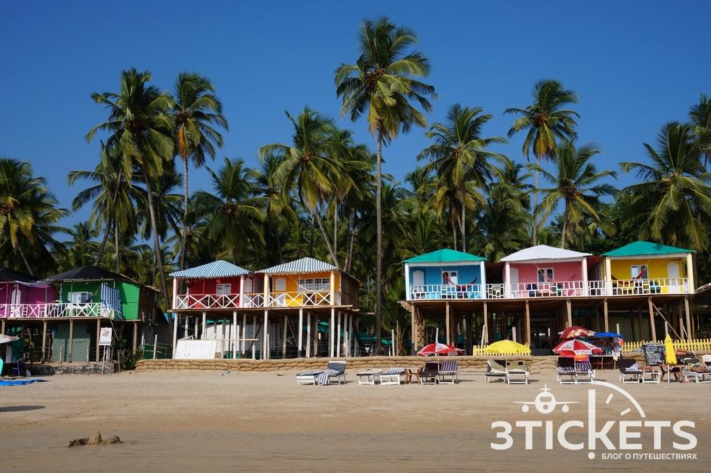 Пляж Палолем, Южное Гоа