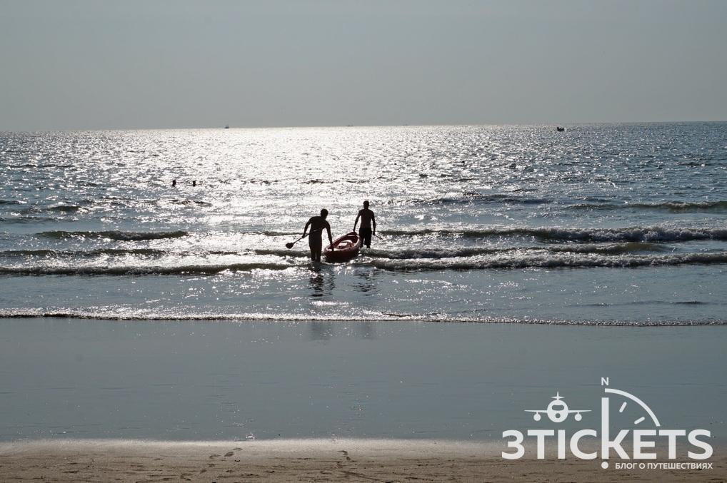 Пляж Палолем, Южное Гоа, Индия