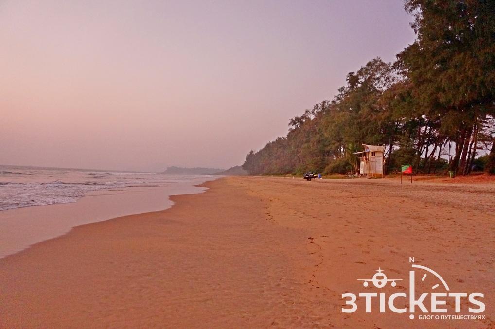 Пляж Галжибаг, Черепаший пляж, Южное Гоа