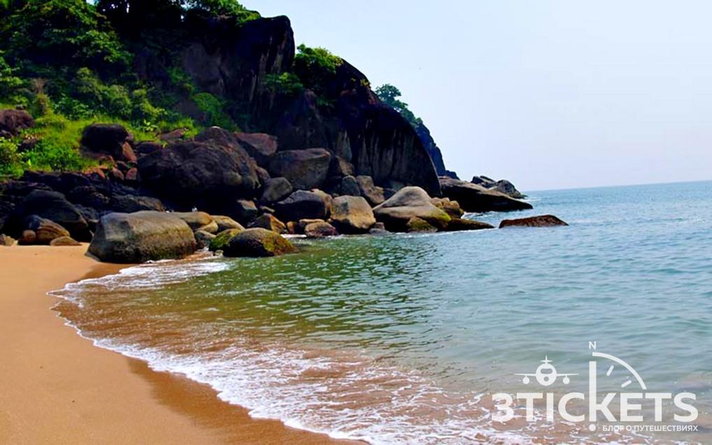 Пляж Баттерфляй, Южное Гоа