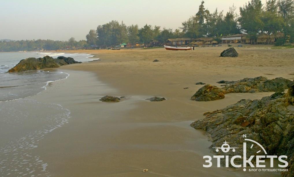 Отель Лалит, южное Гоа, пляж Раджбаг