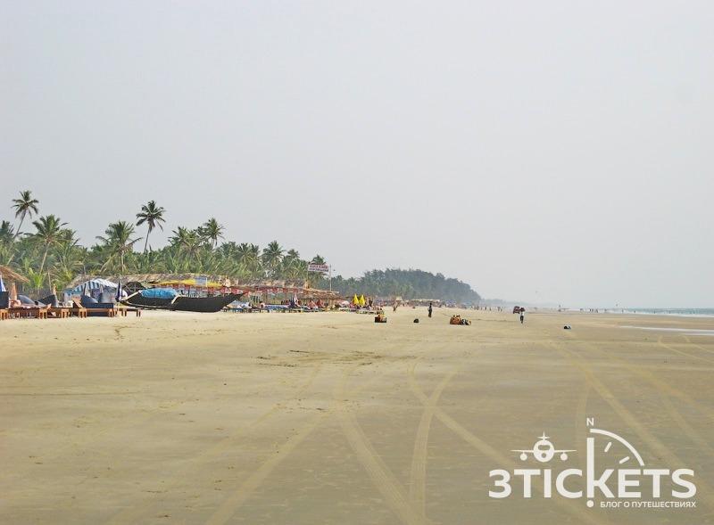 Пляж Уторда, Южное Гоа