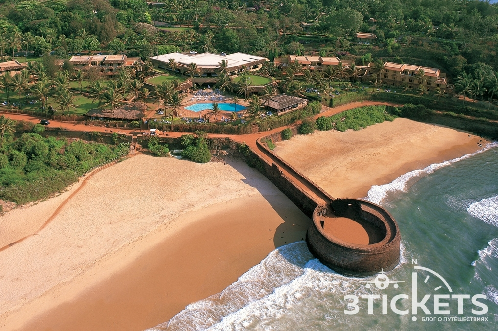 Отель Taj Fort Aguada Resort, форт Агуада
