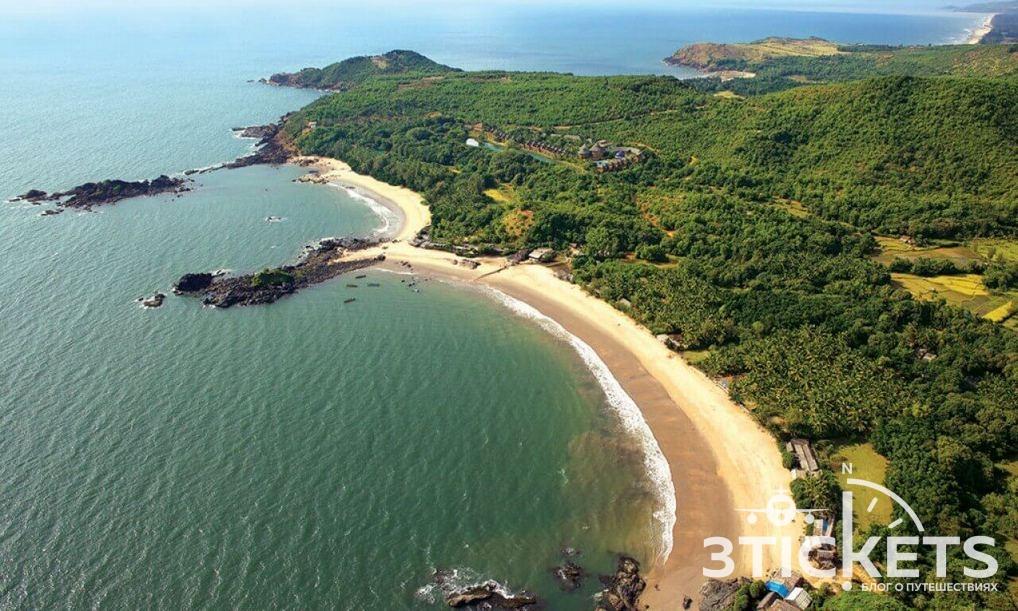 Пляж Ом, Гоа, Индия