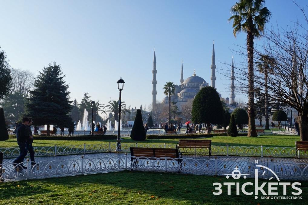 Достопримечательности Стамбула зимой