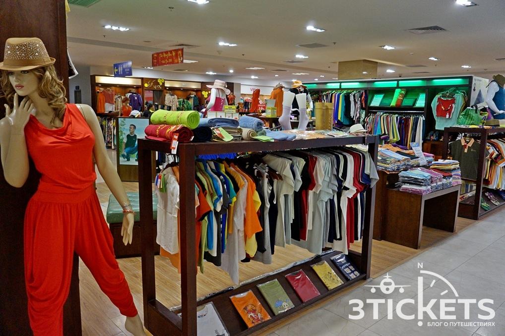 Цены на одежду на Нячанге