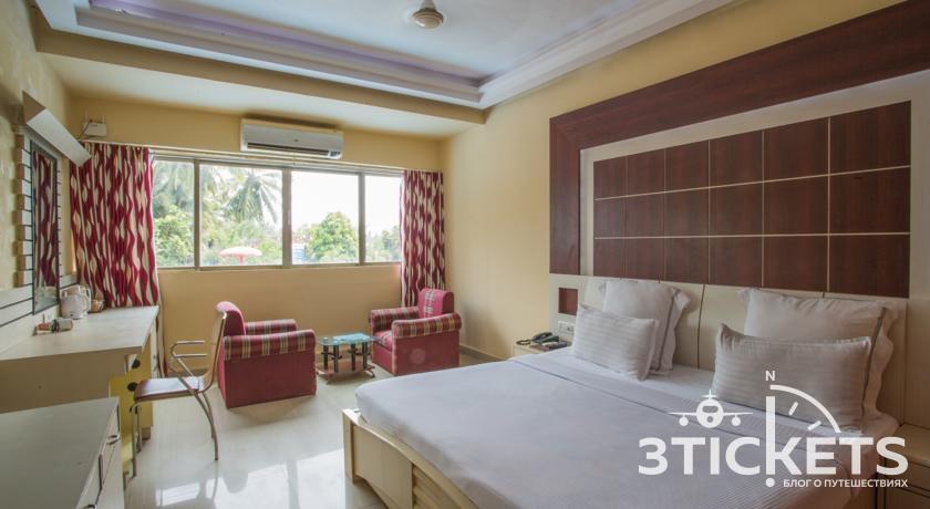 Отель Silver Sands Beach Resort 3*, Южный Гоа, Колва: номера