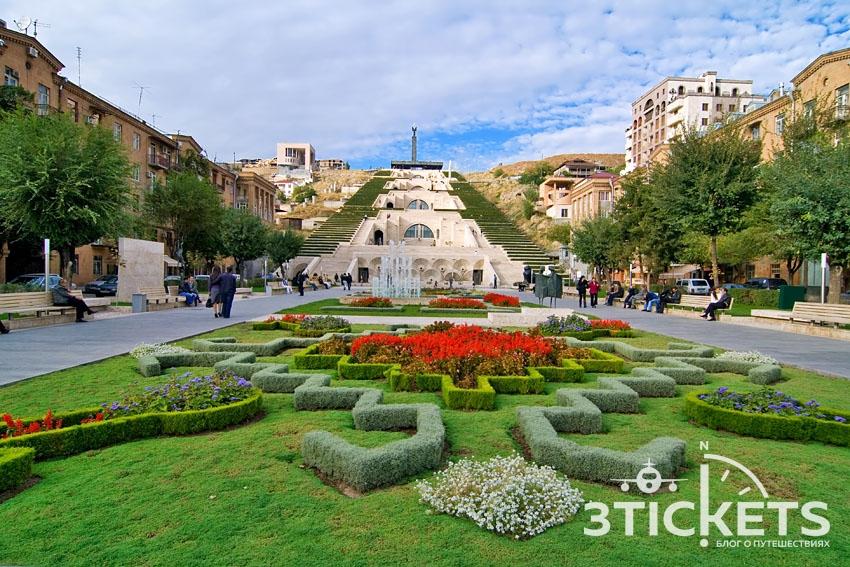 Погода в Ереване летом